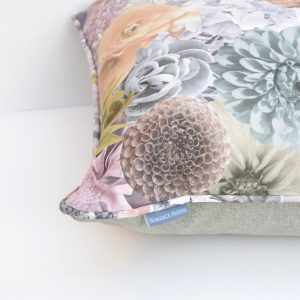 The perfect gift for a home lover, a luxurious and hand crafted cushion with a stunning Ted Baker inspired floral print.