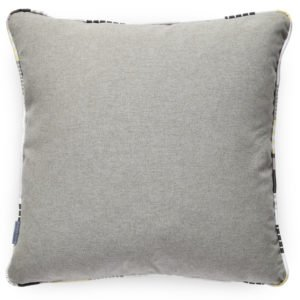 Designer New York cushion, designed and printed in the UK. With striking geometric shapes for a contemporary look.