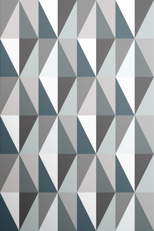Geometric Diamond Wallpaper Green Amp Grey Wallpaper
