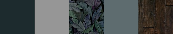 Tropical wallpaper for bedrooms, a luxurious tropical leaf wallpaper.