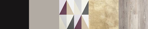 Stunning geometric wallpaper with plum, white and neutral greys. Create a contemporary style interior with ease.