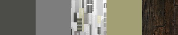 Stunning Geometric architectural wallpaper design inspired by New York city. Create a wow factor feature wall.