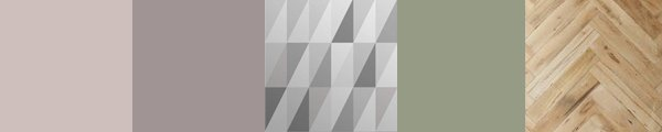 Beautiful geometric grey wallpaper for designer interiors. Create your dream pastel coloured room with elegant contemporary wallpaper.